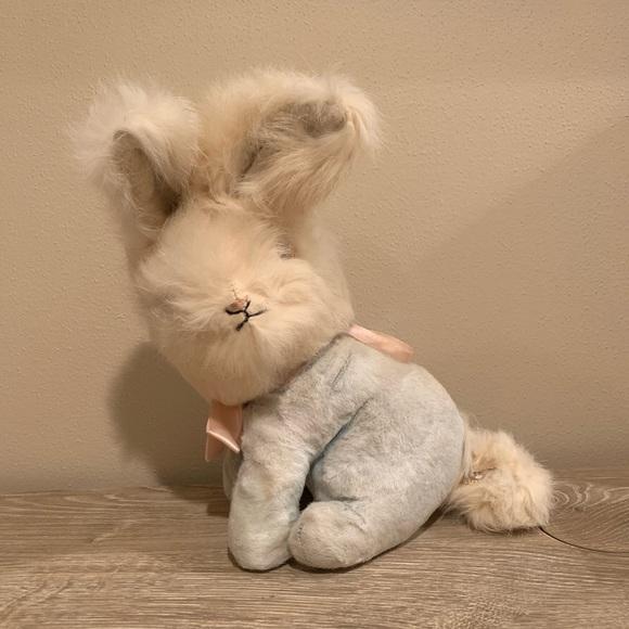 Vintage bunny rabbit plush